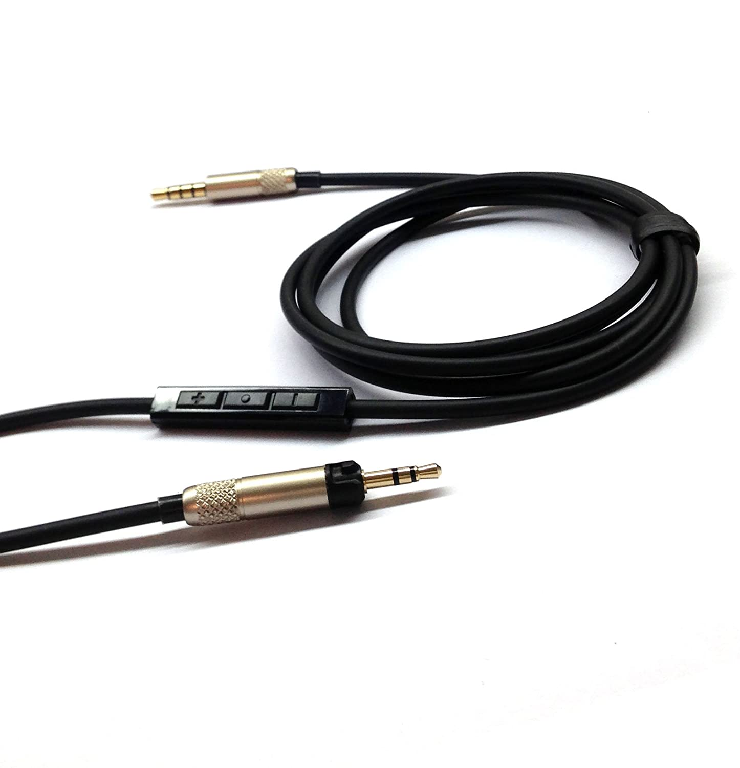NEOMUSICIA Replacement Cable for Sennheiser HD598//HD558//HD518//HD598 Cs//HD599//HD569//HD579 Headphone Remote Volume Control /& Mic Compatible iPhone iPod ipad only