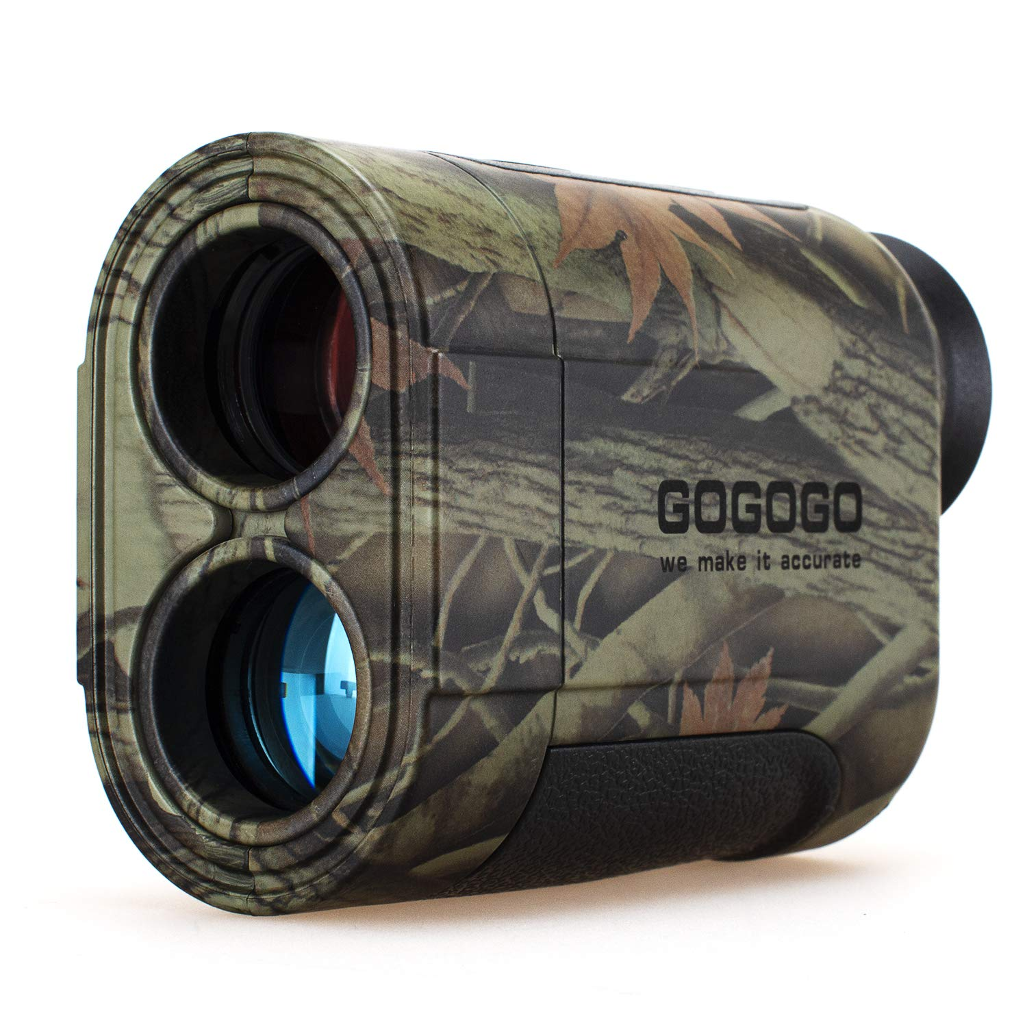 Gogogo 6X Hunting Laser Rangefinder Range Finder Distance Measuring Outdoor Wild 650/1200Y with Slop High-Precision Continuous Scan (1200Yard) by Gogogo Sport