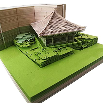 1PC 160 hojas DIY Omoshiroi Block 3D Post-it Notas ...
