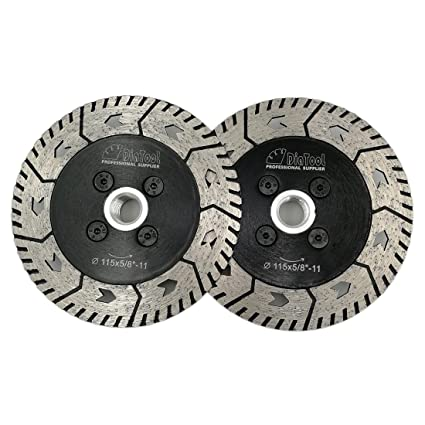 Amazon.com: DIATOOL 2 piezas de corte de diamante hoja de ...