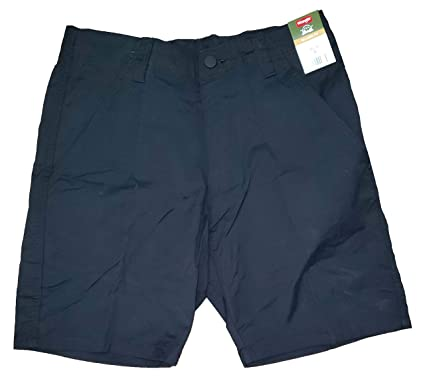275bf31b03 Wrangler Black Outdoor Performance Relaxed Fit at Knee Flex Cargo Shorts -  30