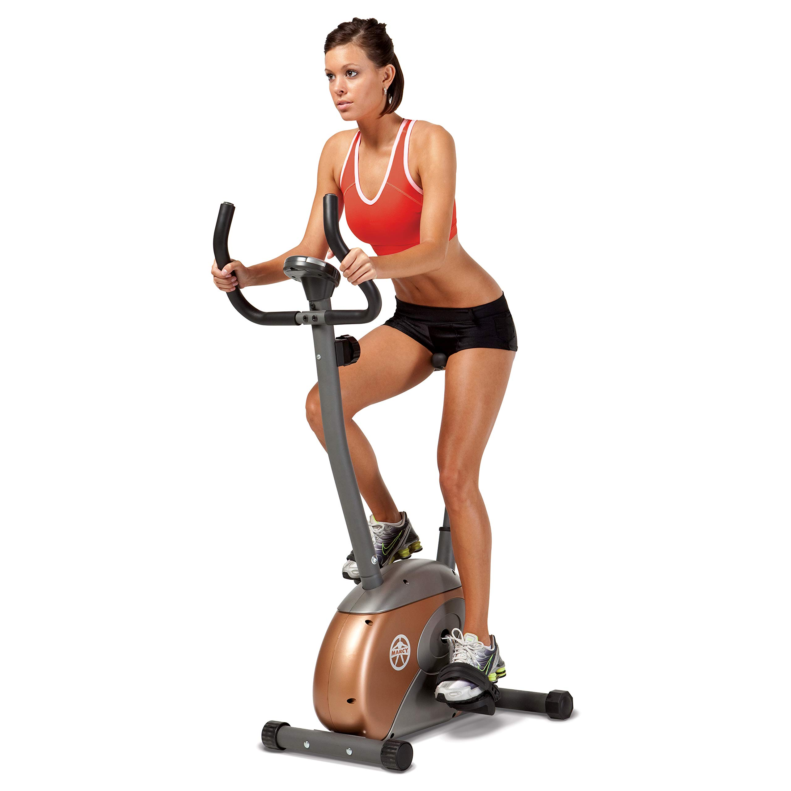 Marcy Upright Exercise Bike with Resistance ME-708 by Marcy (Image #1)