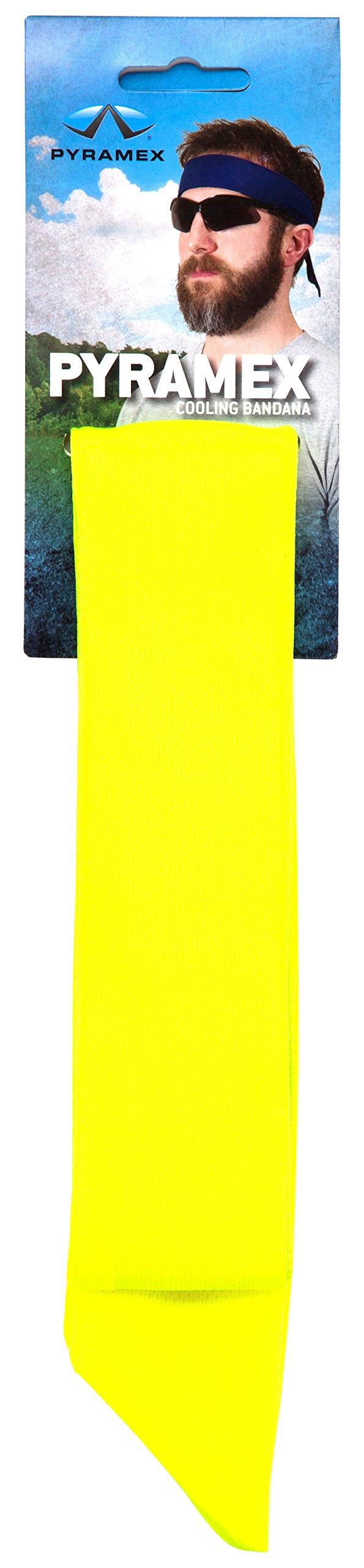 Pyramex Safety CBD12PKLIME Cooling Bandana (12 Pack), Lime
