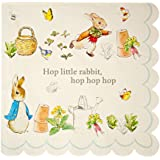 Meri Meri Peter Rabbit Scallop Edge Napkins Large