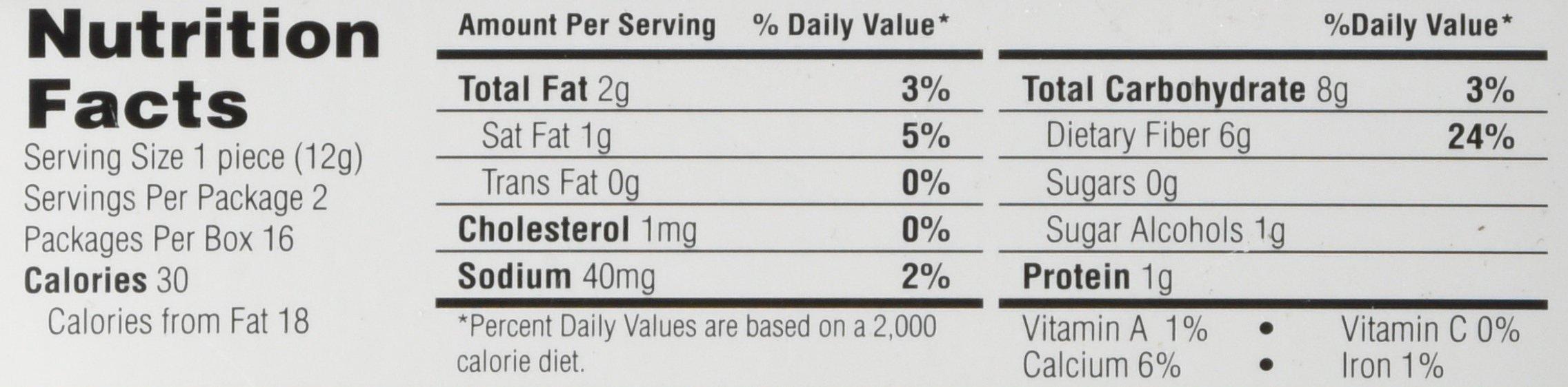 Healthsmart Chocolite Bar Chocolate Crispy Caramel -- 16- 24g(.84oz) Bars by Health Smart Foods (Image #3)