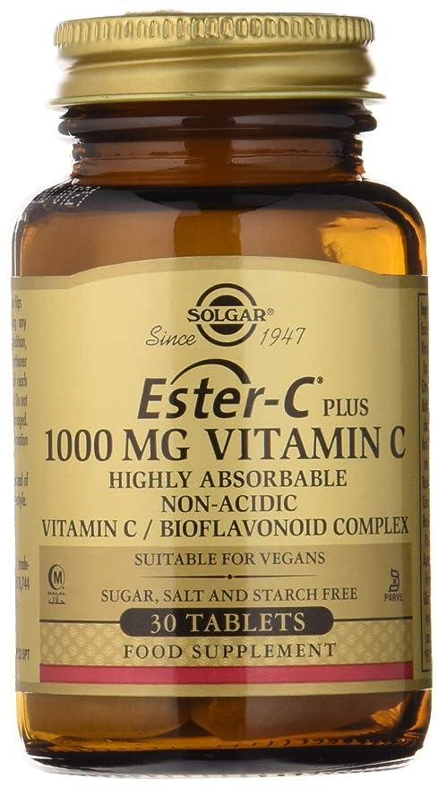 Solgar Ester-C Plus Vitamina C 1000 mg Comprimidos - Envase de 30