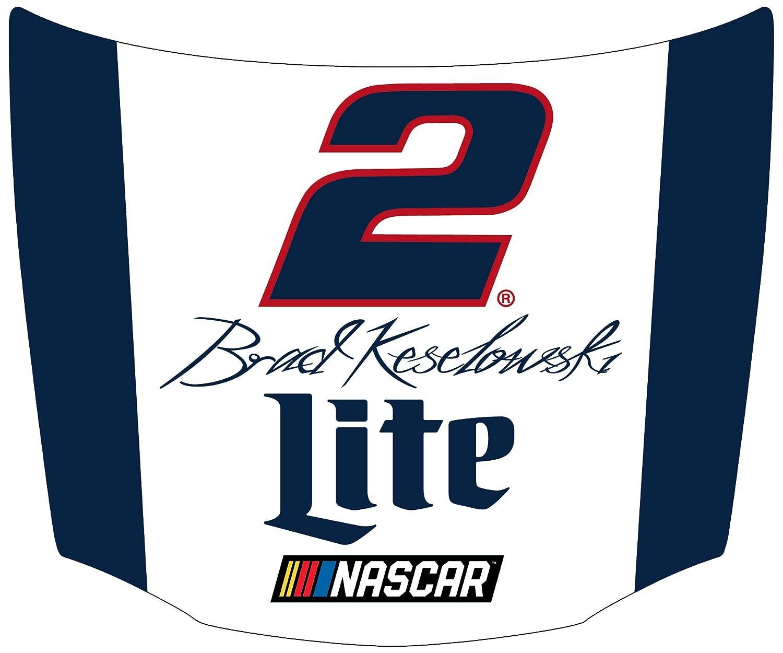NASCAR #2 Brad Keselowski Hood Shaped Magnet-NASCAR Magnet