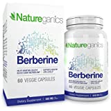 Berberine - 500MG Best Selling Cardiovascular Support, Helps Maintain Healthy Blood Sugar Levels. 60 Veggie Caps