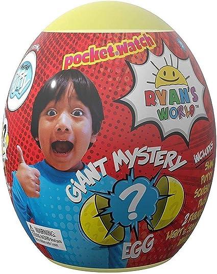 New Kids Ryan/'s World Giant Mystery Blue Egg Series 2 Assortment Fun Play Toy