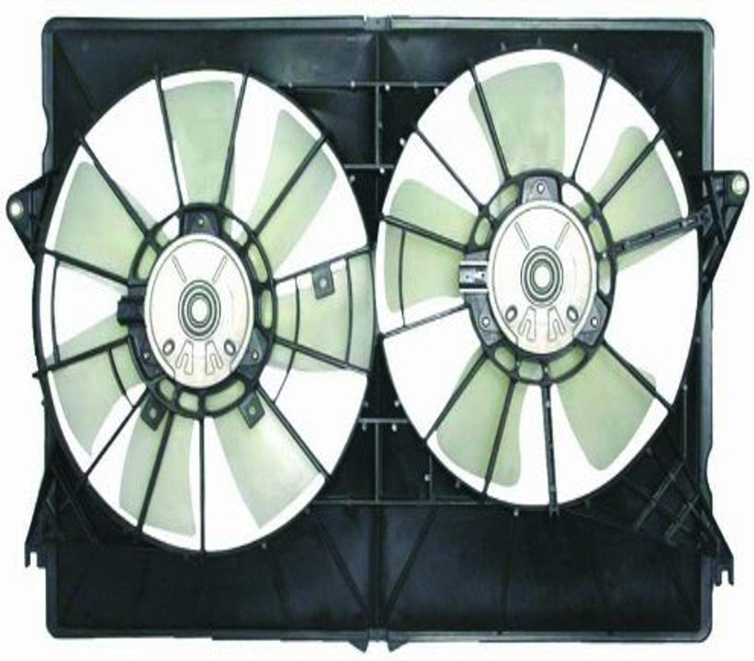 DEPO 333-55009-000 Replacement Engine Cooling Fan Assembly (This product is an aftermarket product. It is not created or sold by the OE car company)