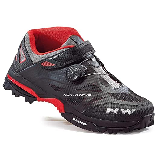 Northwave Enduro Mid All Mountain Cycling Shoes BlackRed