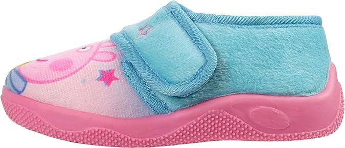 Zapatillas de Peppa Pig & Teddy para niñas, suaves, tallas 21 a 28 ...