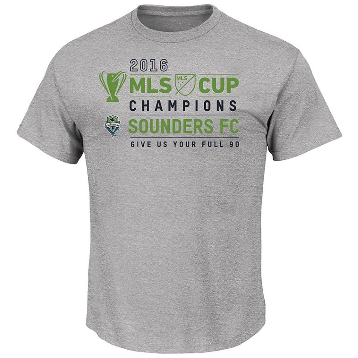 100%の保証 Seattle 2016 Seattle Sounders 2X FCスチールHeather 2016 MLS ChampionsグレーTシャツ 2X B01N6IDRUG, キャンディブーケのラ セリーゼ:f3a63dcd --- a0267596.xsph.ru