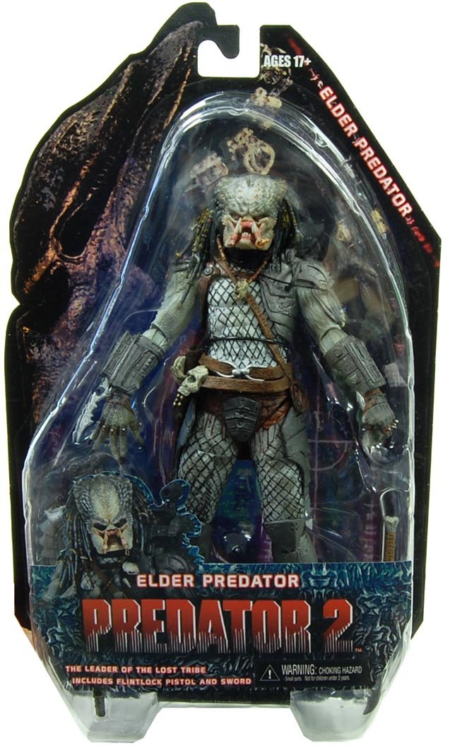 Action Figur Predators Serie III Elder Predator 18 cm [Edizione  Germania]