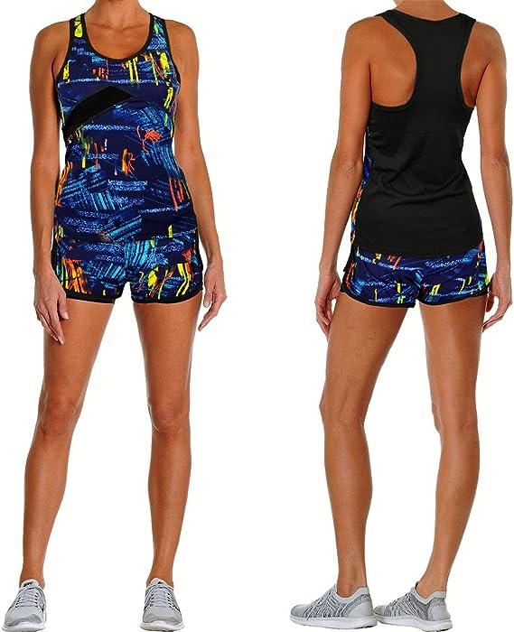 Conjunto deportivo para mujer modelo KENIA en varios colores ...