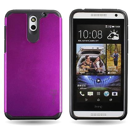 Amazon.com: coveron® para HTC Desire 610 Hybrid Case [Slim ...