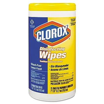 Clorox desinfección toallitas – limón aroma – 6 PK.