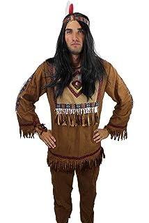 Disfraz de jefe indio hombre XL: Amazon.es: Juguetes y juegos