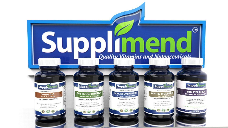Amazon.com: SUPPLIMEND Melatonin Plus Sleep Aid | 12 All-Natural Sleep Ingredients | Includes Melatonin 3mg, Valerian Root, GABA, Skullcap, Chamomile, ...