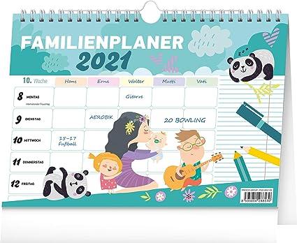 Calendrier Familial 2021 Calendrier familial 2021   Calendrier familial 2021 pour jusqu'à 5