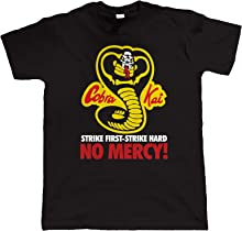 Cobra Kai - No Mercy, Mens Martial Arts T Shirt