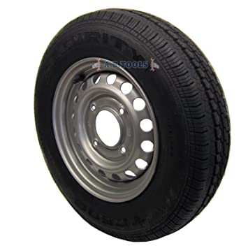 """Remolque Rueda y neumático 165 r13 C 5 – 1/2 """" ..."""