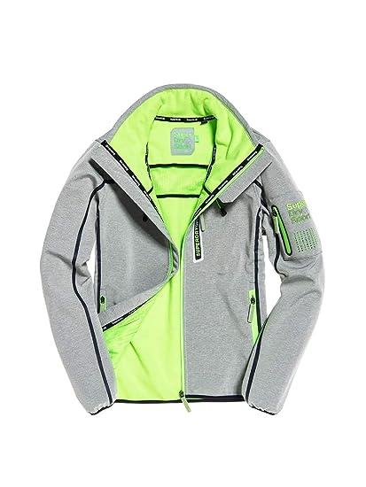 5336aa3a9860dd Superdry MS3002SR Jacket Man Grey L: Amazon.co.uk: Clothing