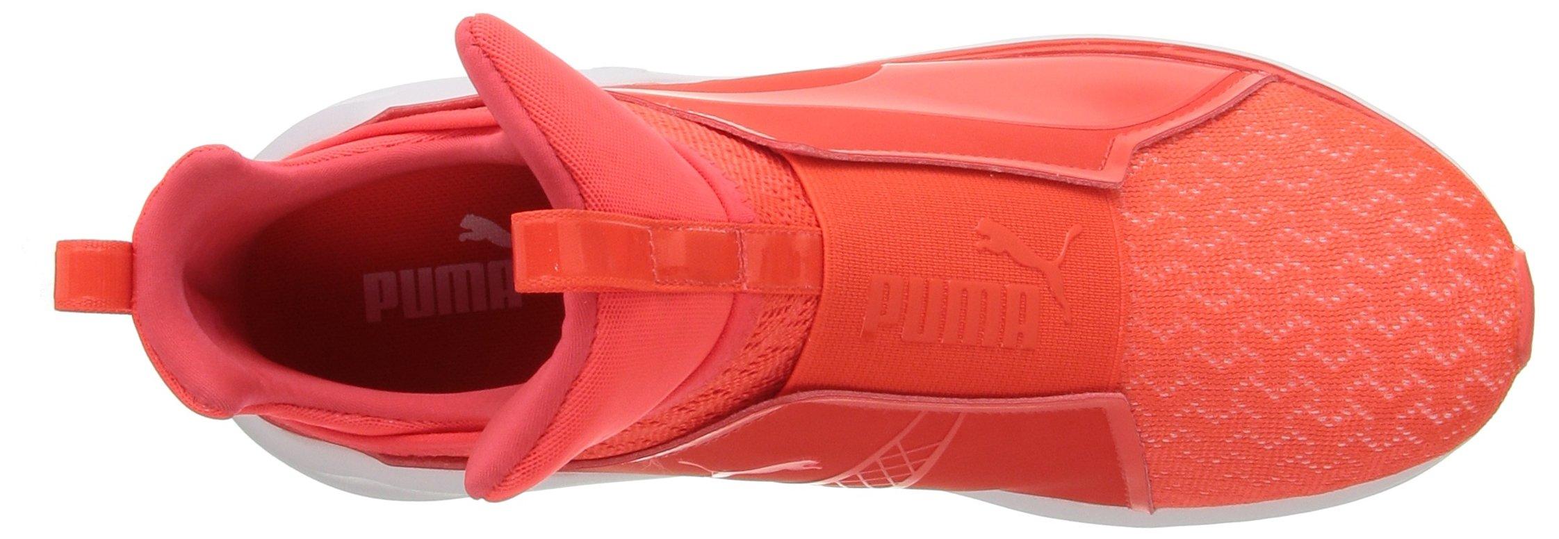 PUMA Women's Fierce Eng Mesh Cross-Trainer Shoe, Red Blast White, 5.5 M US by PUMA (Image #8)