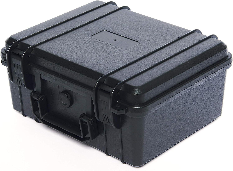 Medicine Storage Box/Lock Box; Secure, Store, and Organize Prescription Medication and Pills; Portable, Sturdy, Safe; Lockable with Hanging Padlocks