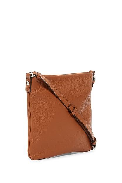 9b58a32179fc3 Marc by Marc Jacobs Sia Leather Crossbody Bag (Maple Tan)  Amazon.ca  Shoes    Handbags