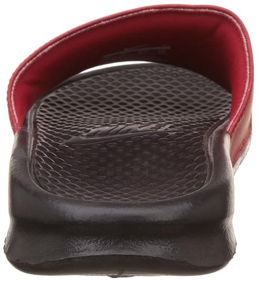 275df0909da1 Nike Men s Benassi JDI Mismatch University Red Black 818736 600 Size 17   Amazon.ca  Shoes   Handbags