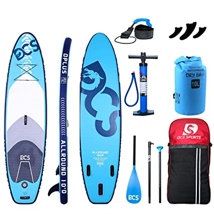 Amazon.com : Airgymfactory DCS Inflatable Stand Up Paddle ...