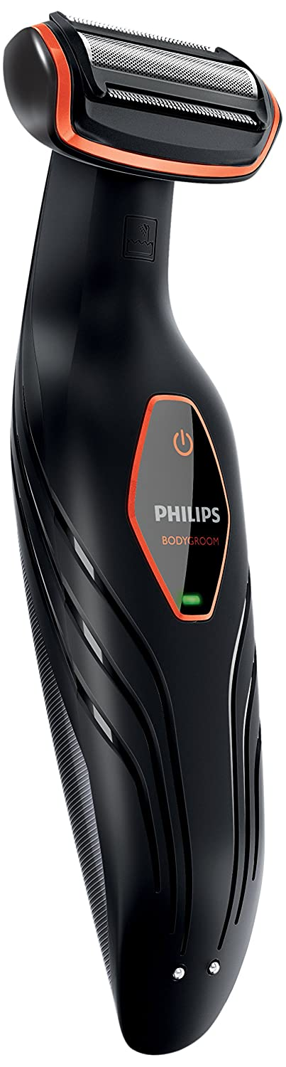 Philips BG Afeitadora corporal sin cable peine mm color negro y naranja