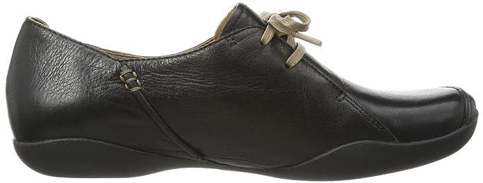 Clarks Felicia Vale, Peu femme - Noir - Schwarz (Black Leather), 38 EU