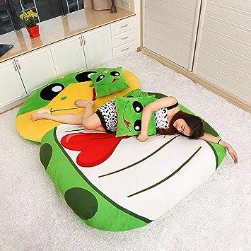 Totoro colchón 130 x 190 cm de Soft épaissir Historieta, Tatami Dormitory colchón Dibujo Animado épaississement sofá-Cama Super Suave Cama de Dormir: ...