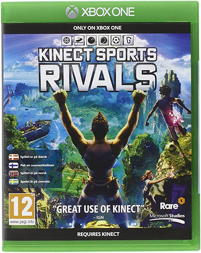 Microsoft Kinect Sports Rivals, Xbox One - Juego (Xbox One, Xbox One, Deportes, Rare, E10 + (Everyone 10 +), DAN, FIN, NOR, SWE, Básico): Amazon.es: Videojuegos