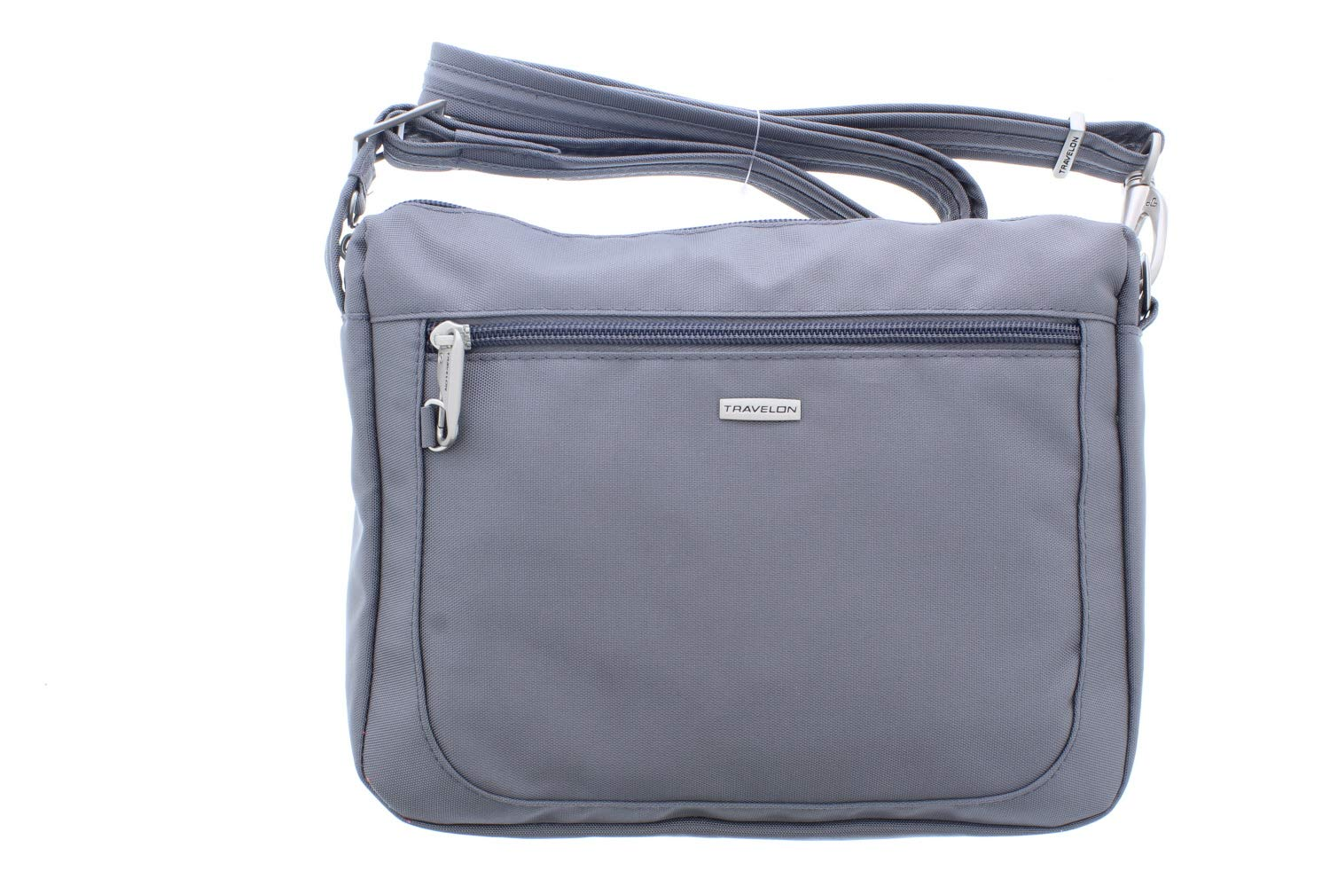 Travelon Anti-Theft Classic Small E/w Crossbody Bag (PEWTER)
