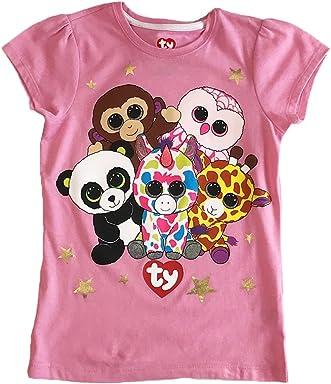 TY Beanie Boos Girls Ss Tee Shirt