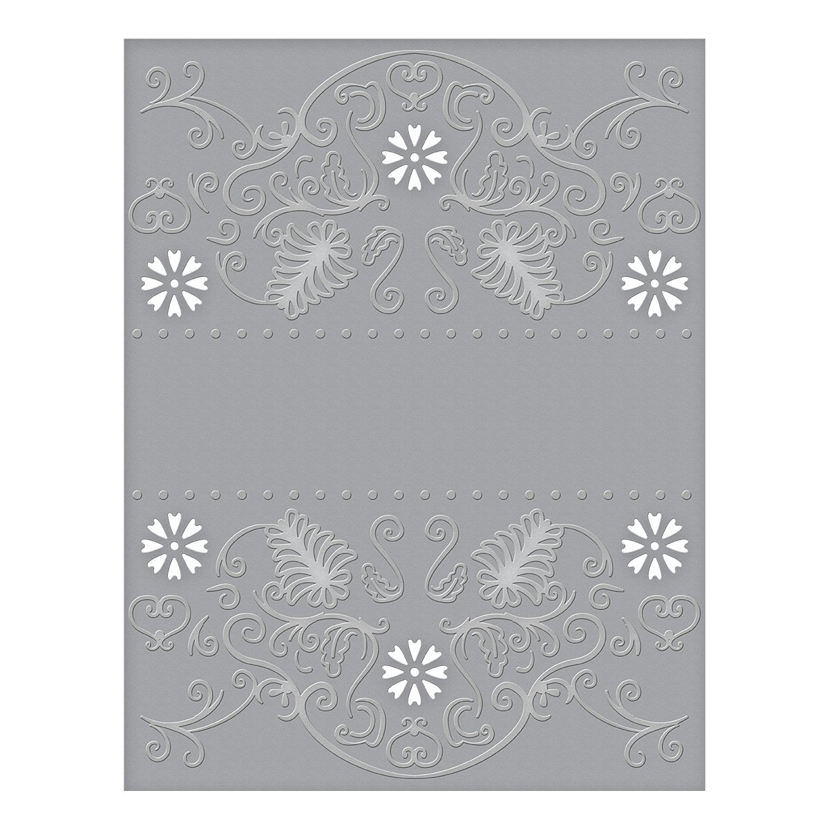 Spellbinders CEF-009 Flora Banner Cut and Emboss Folder