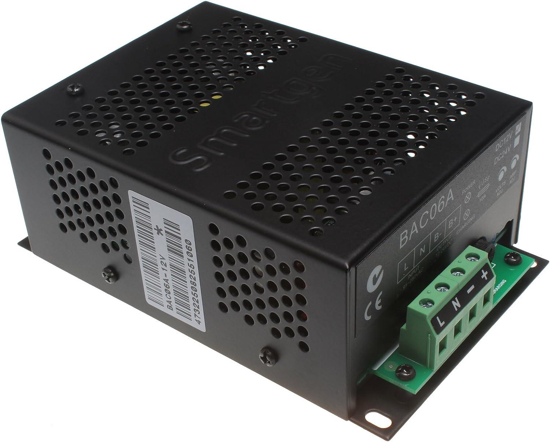 Nouveau BAC06A-12V samartgen Chargeur de Batterie Pour Générateur