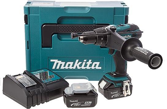 Makita DHP456RF3J Akku-Schlagbohrschrauber-Set im MAKPAC