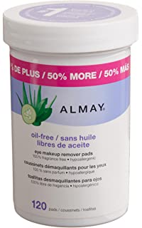 Almay Oil-free Eye Makeup Remover Pads(Pack of 2)