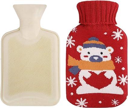Hot Water Bottle U Type protect cover Bottle Neck Protection Gift X-mas UK