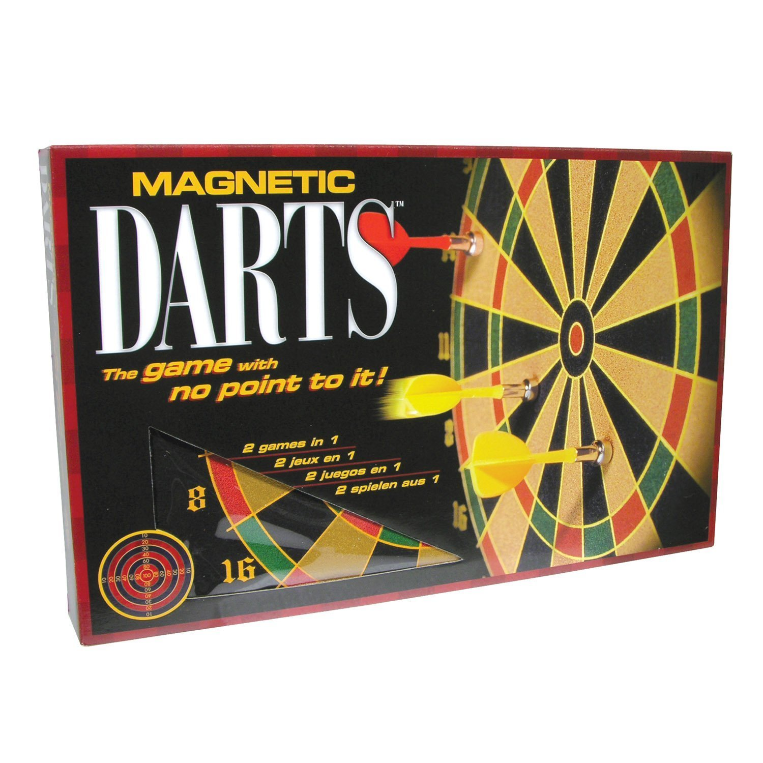 Family Games Portable Magnetic Dart Game