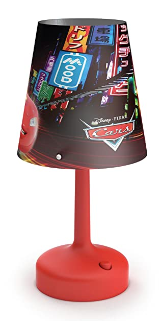 Philips disney cars portable led childrens bedside and table lamp philips disney cars portable led childrens bedside and table lamp integrated led battery operated mozeypictures Image collections
