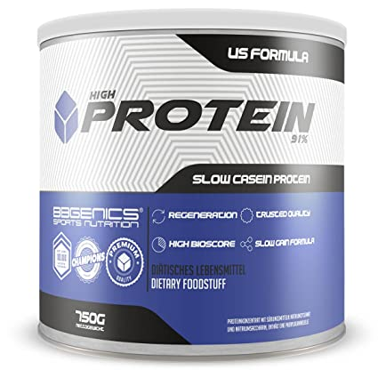 High Protein 91%, alto contenido de proteínas del 91 %, menos del 1