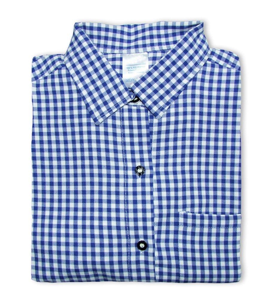 Trachtenhemd Anton Blau Gr. 50 Trachtenland 832859265a