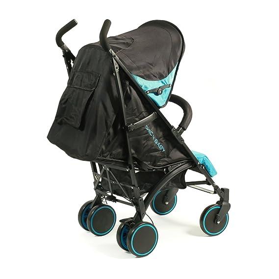 CHIC 4 Baby Luca - Cochecito azul claro