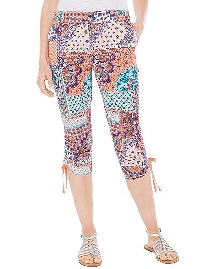 9dde1cb7c70b10 Chico's Women's Cool Cotton Capri Pant at Amazon Women's Clothing store: