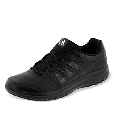 adidas Duramo 6 Lea Shoes Black Size: 9 UK/27.5 cm